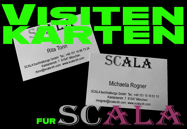 Visitenkarten für Scala