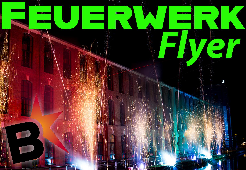 Neuer Flyer für Büttner Feuerwerke