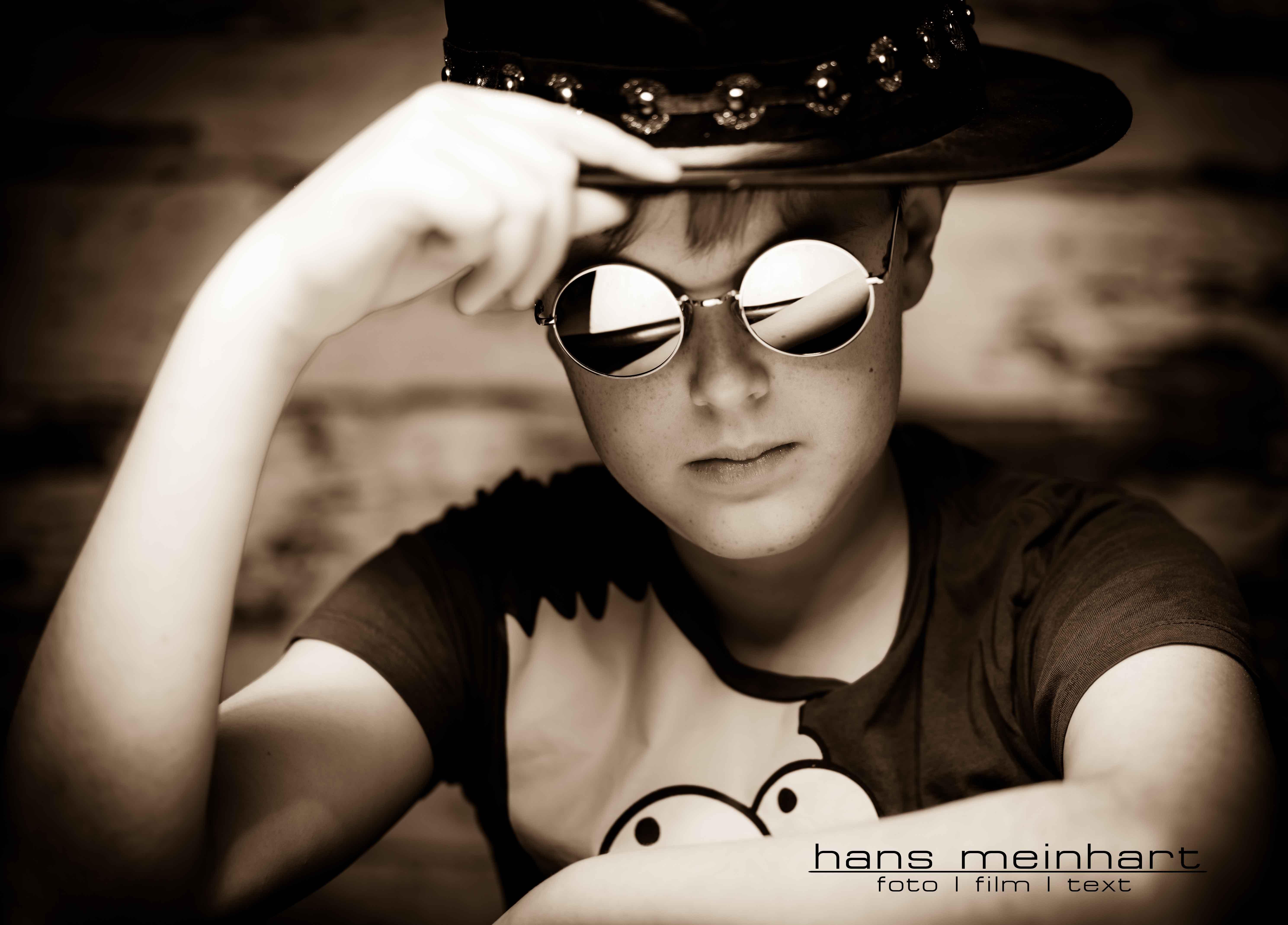 Coole Fotos eines Männer-Models