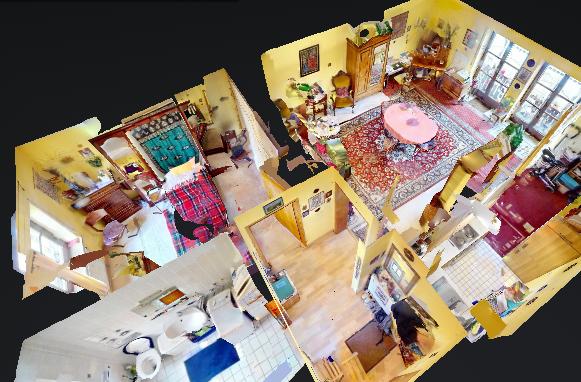 360° Virtueller Rundgang für einen Wohnungsverkauf