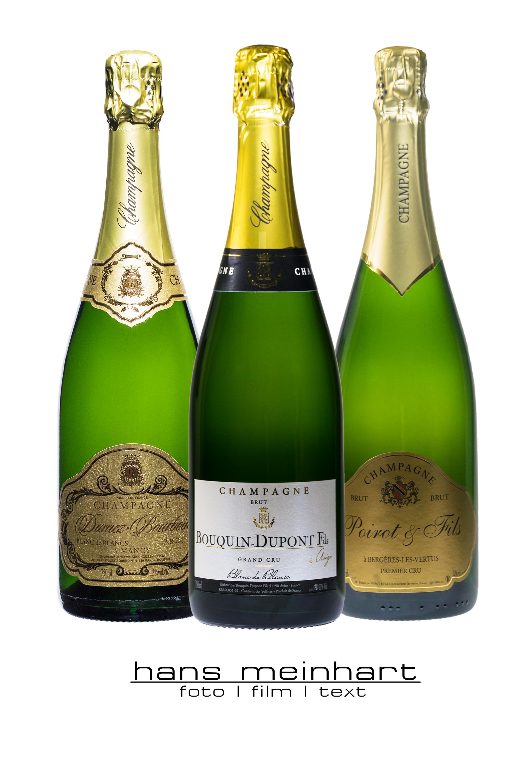 Produktfotos für Champagner