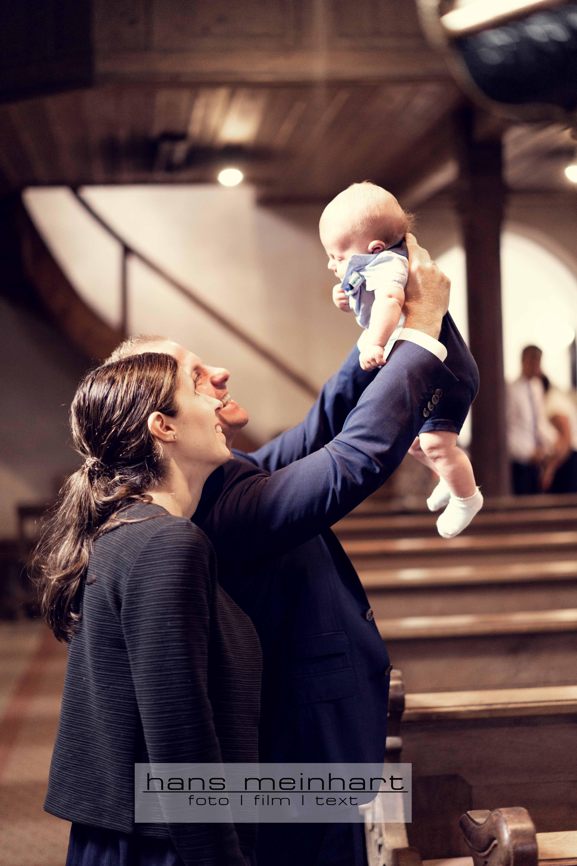Taufe des kleinen Timmy