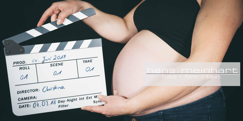 Babybauch Shooting mit Christina