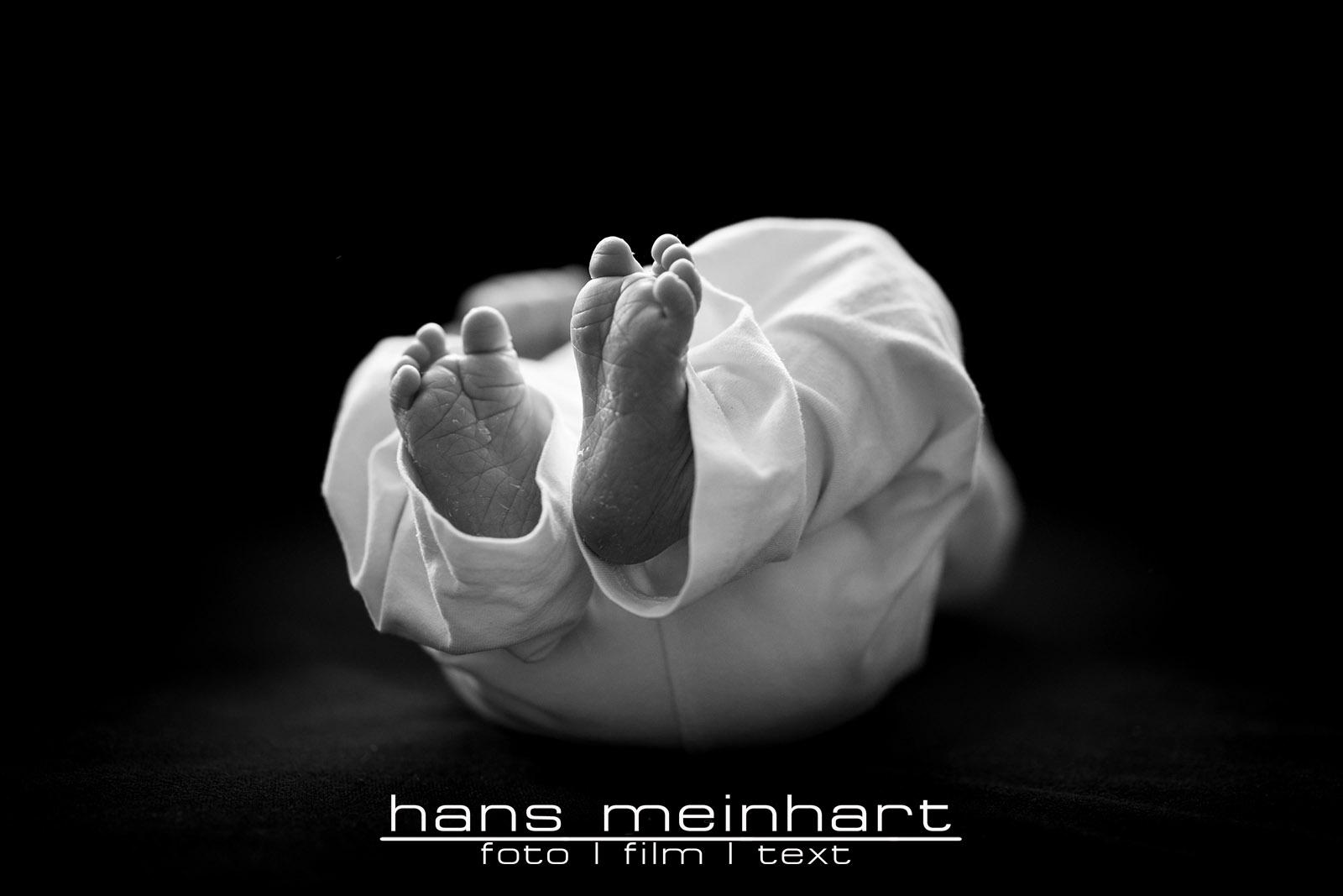 Newbornshooting des kleinen Johannes