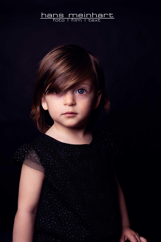 Portraits der kleinen Melissa