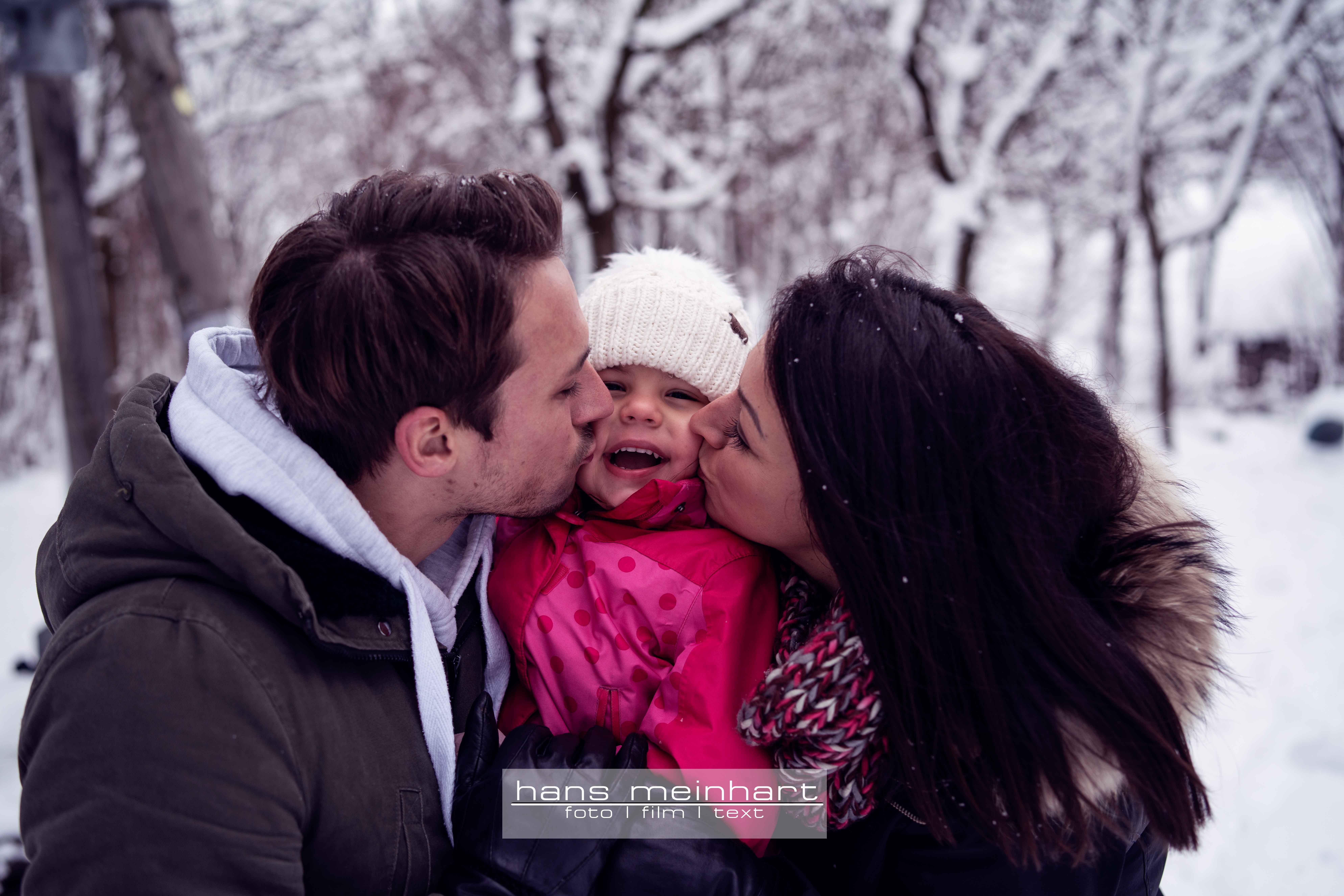Familienshooting im (Tief-)Schnee!