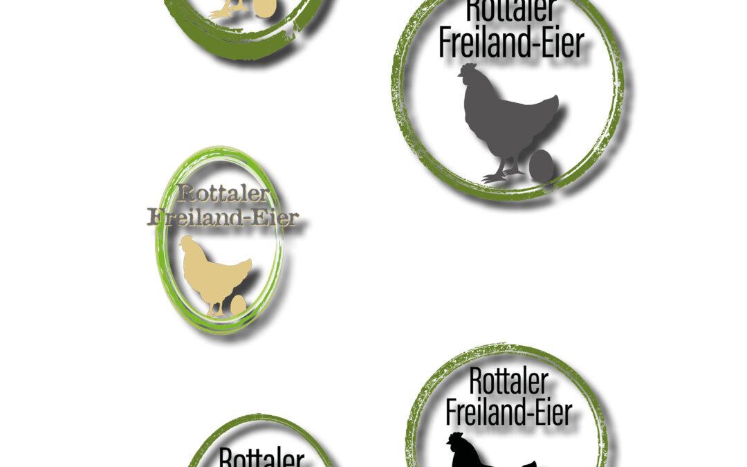 Logo-Design für Eierfirma