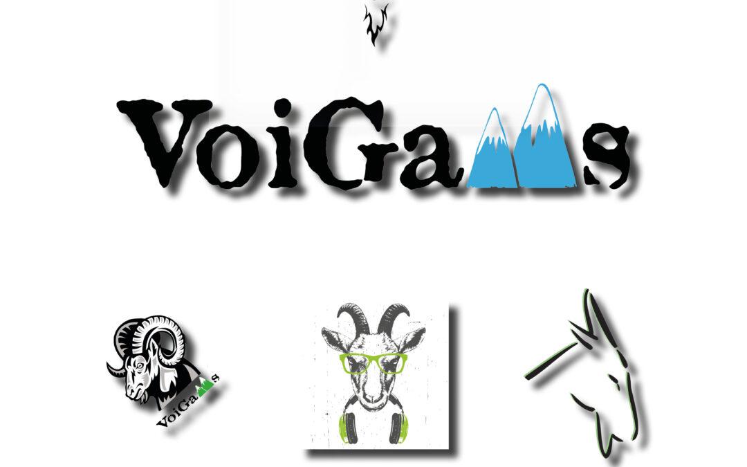 Logo-Design für die Band VoiGams