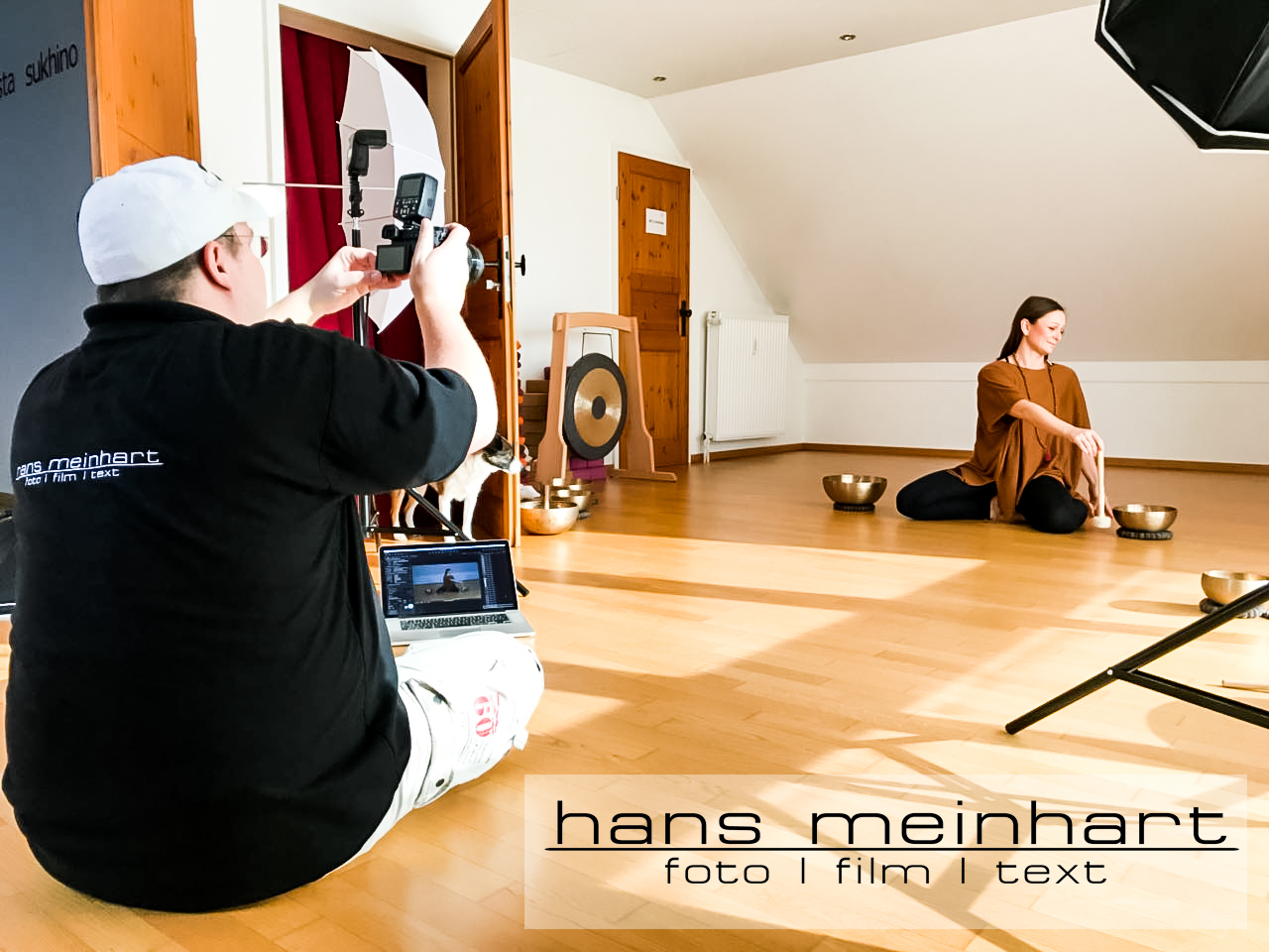 InAction Fotos vom Fotoshooting im Lucky Yoga