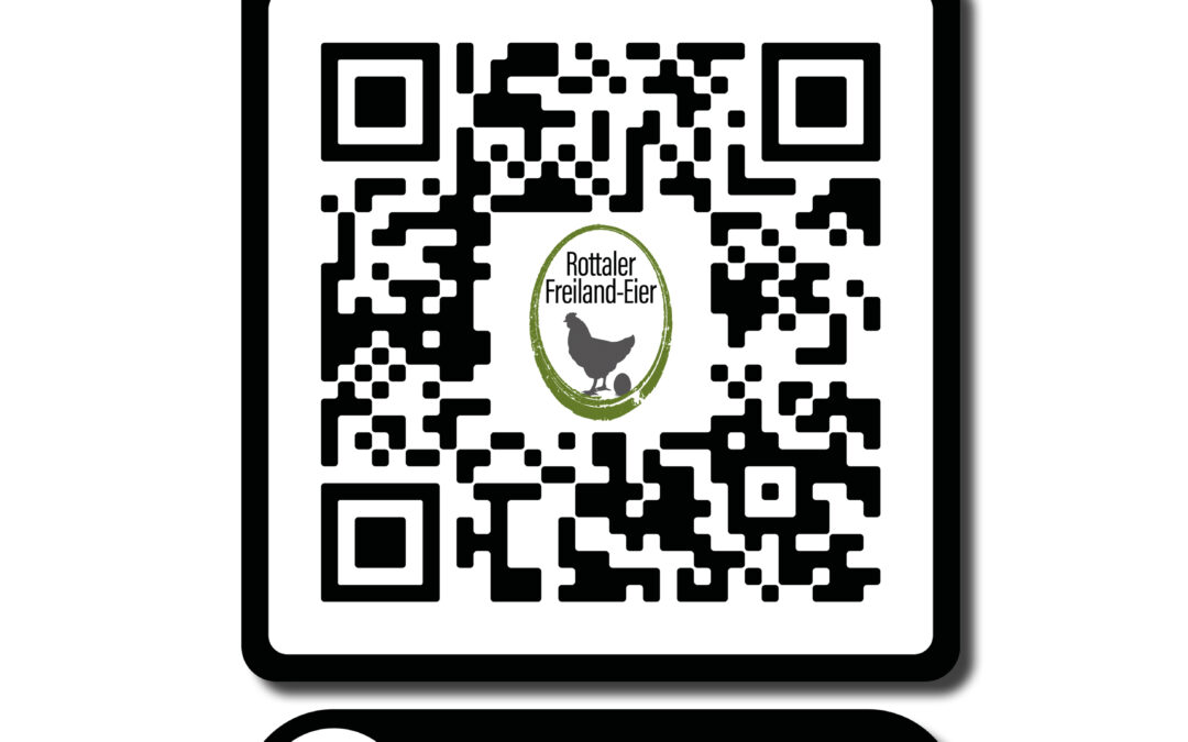 QR-Code Erstellung für Eierfirma