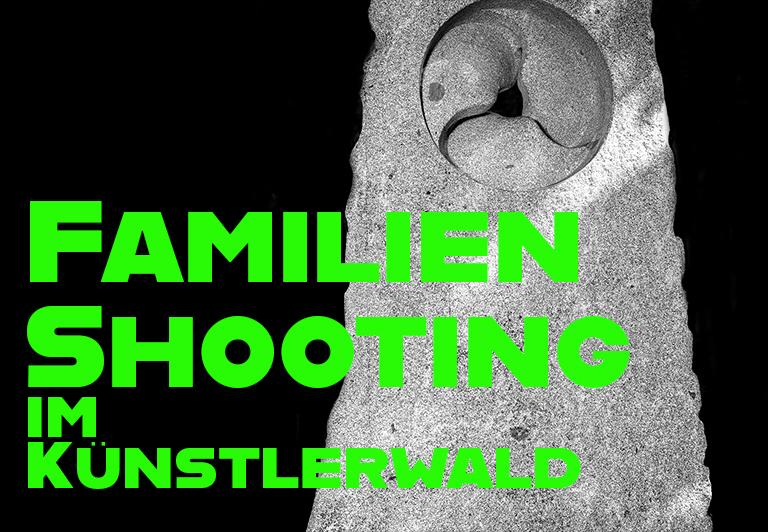 Familienshooting im Künstlerwald