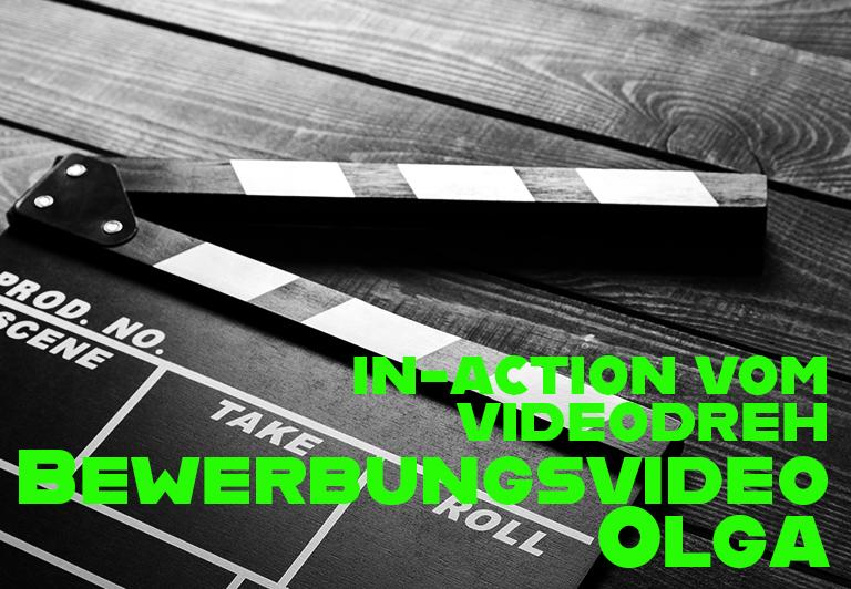 in-action Fotos vom Videodreh Bewerbungsvideo